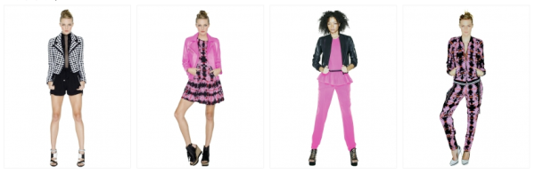 A few pieces from Stefani's Spring 2013 L.A.M.B. collection